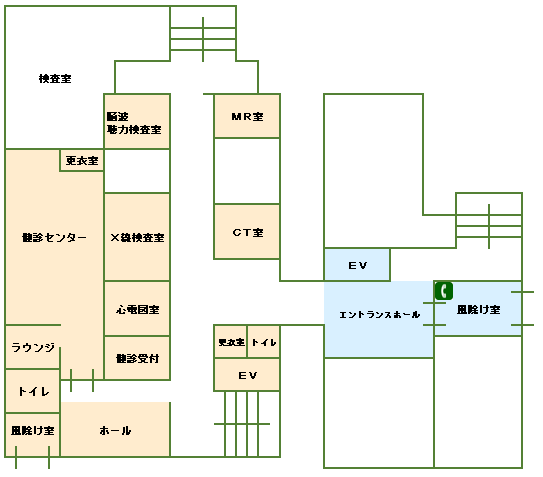 フロアマップ・院内設備 | 医療法人社団新風会 丸山病院 - 静岡 ...
